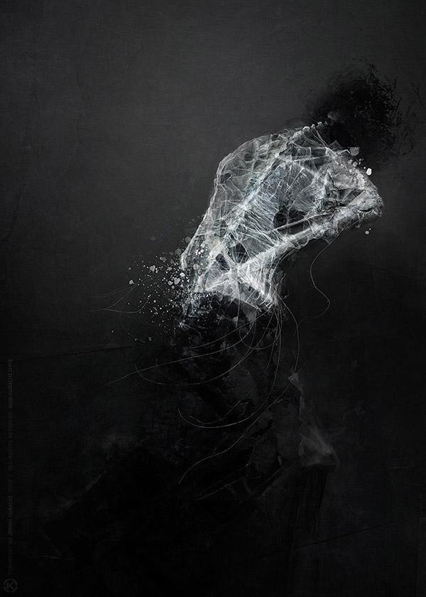 dark art | Dark-Mixed-Media-Art-Jarek-Kubicki3 | eMORFES