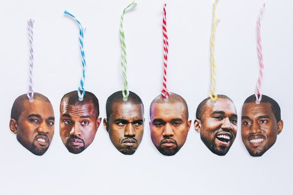 Celebrity Gift Tags The Kanye Pack