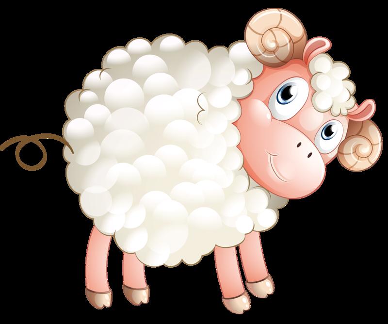 Картинка овца детская