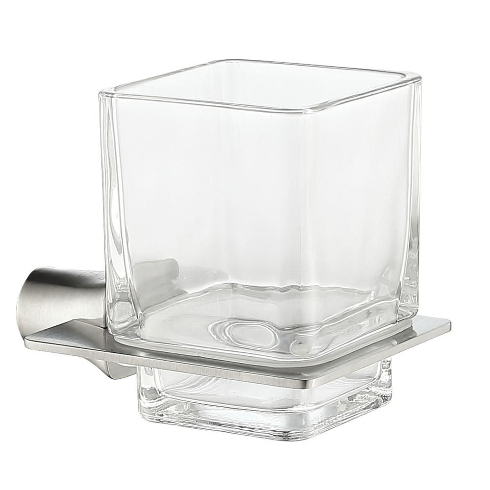 Anzzi Essence Series Toothbrush Holder In Brushed Nickel