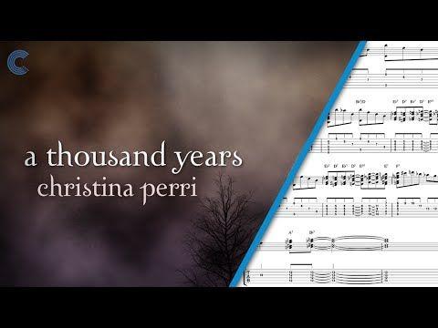 A Thousand Years Christina Perri Violin Sheet Music Chords And