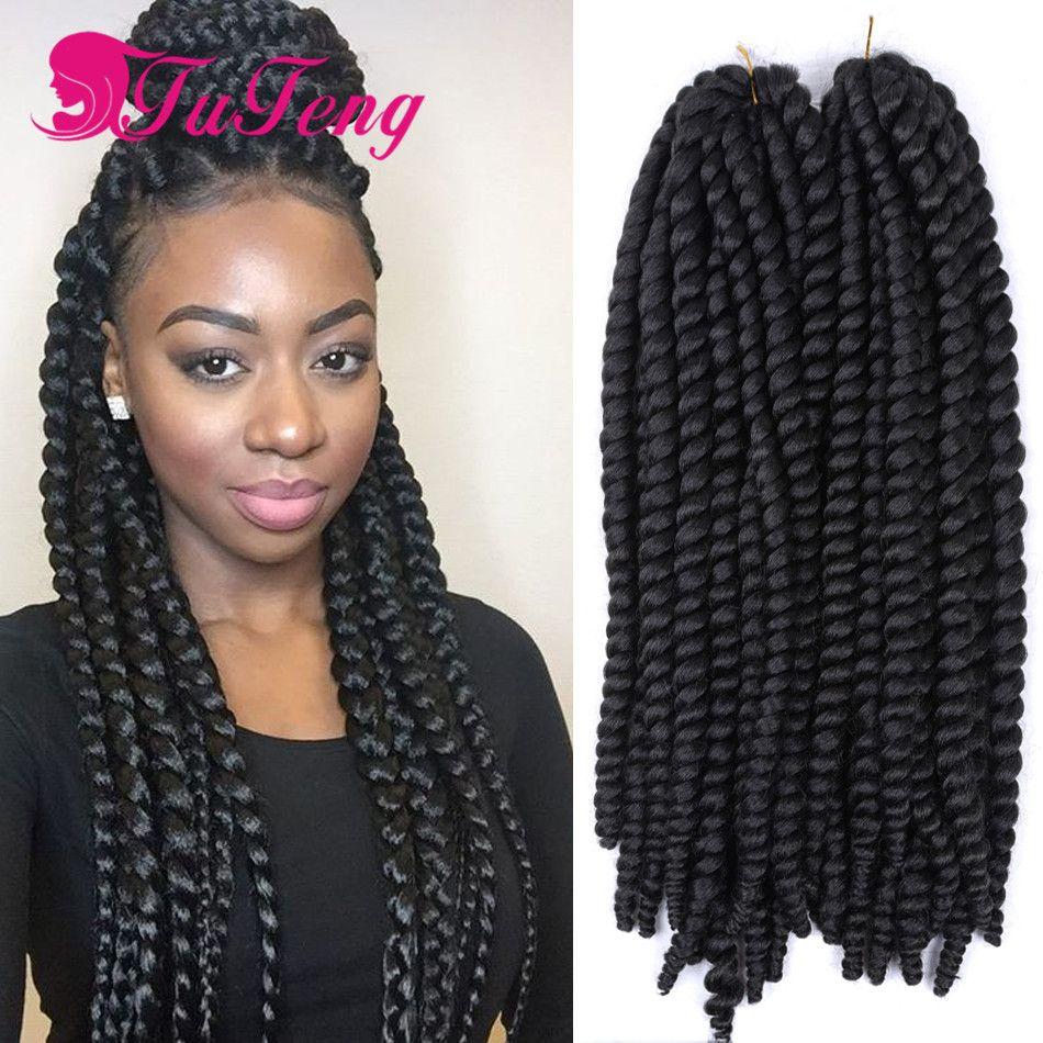 Top quality havana mambo twist crochet pretwist hair - Crochet braids twist ...