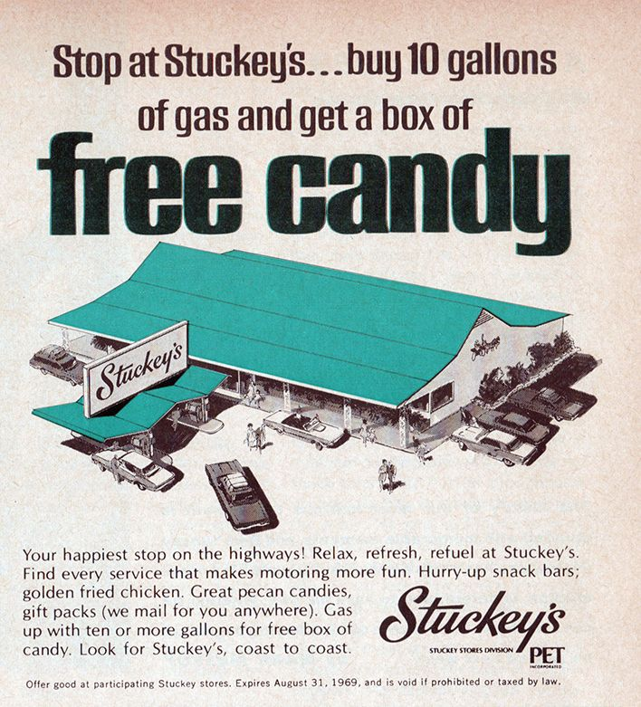 FREE CANDY?!?!?!? I wonder if this offer is still good ...