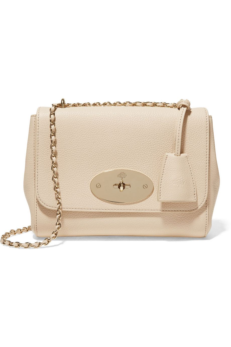 Mulberry | Lily small textured-leather shoulder bag | NET-A-PORTER.COM