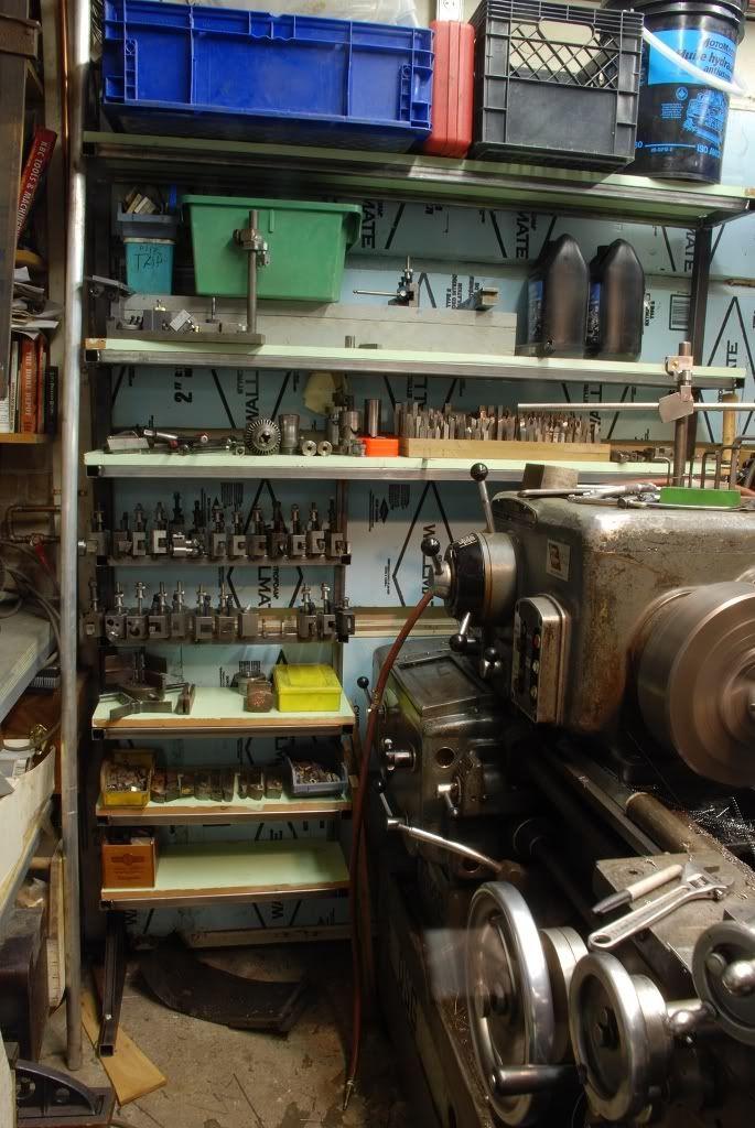 Some lathe tooling storage ideas