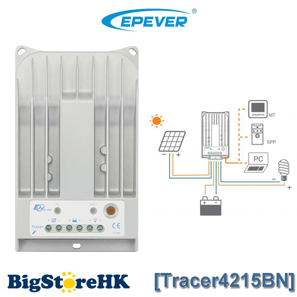 40a Mppt Solar Charge Controller 1000w 24v Panel System Wiring Schematic Also Epsolar Mode For Light