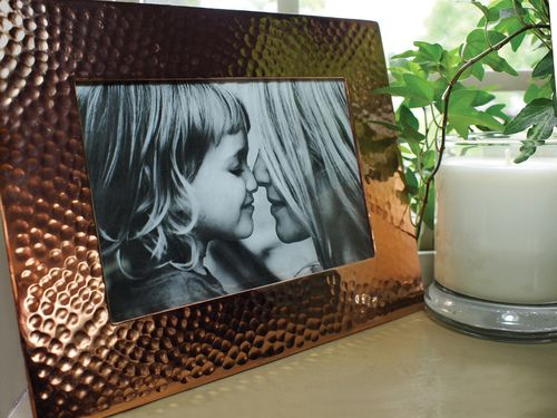 Hammered Pure Copper Picture Frame Houseware Alchemade
