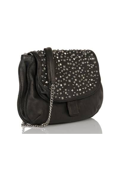 100% authentique grande variété de styles Style magnifique Sac clouté cuir Noir by BERENICE 199 | bags and stuff | Sac ...