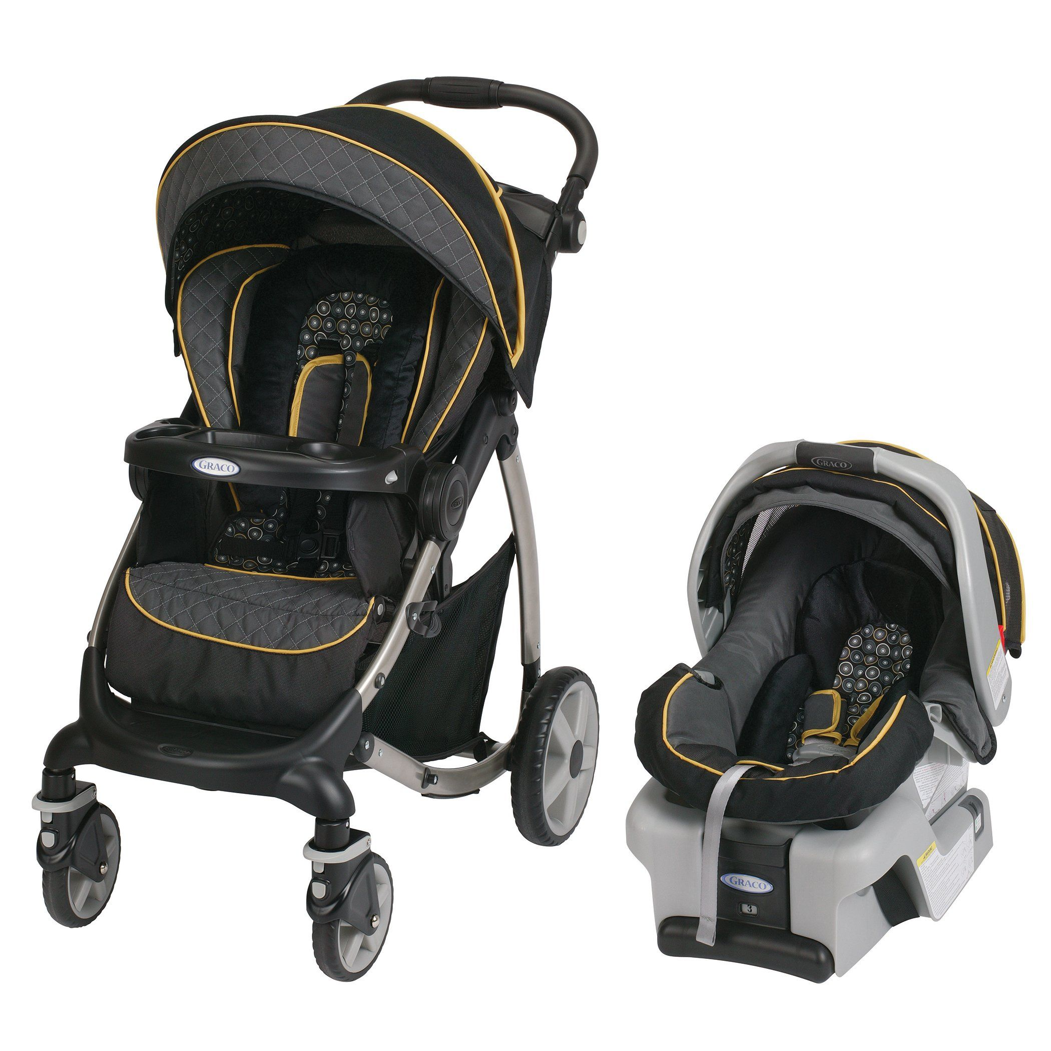 Graco Stylus Travel System with Classic Connect SnugRide