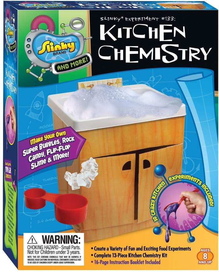 Kitchen Science Kit Kidz Labs Childrens Kitchen Science Experiment Set