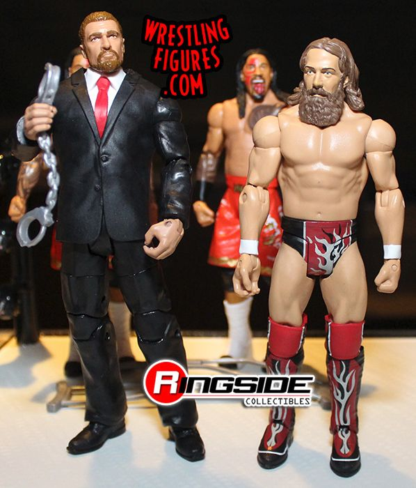 WWE Mattel Triple H combat 35 Elite Series Figure