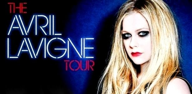 Avril #Lavigne World Tour 2014 - Concert in #Santiago Chile at Movistar Arena on May 9th - #Pinterest-About-Chile-concerts