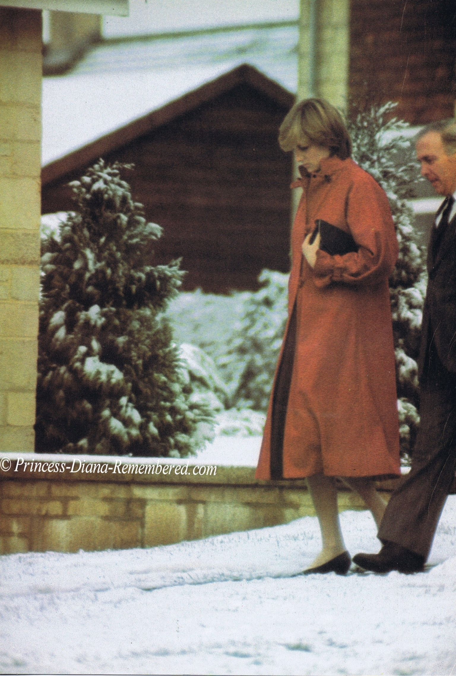 December 8, 1981: Princess Diana visiting St Mary's church of England Primary school in Tetbury.