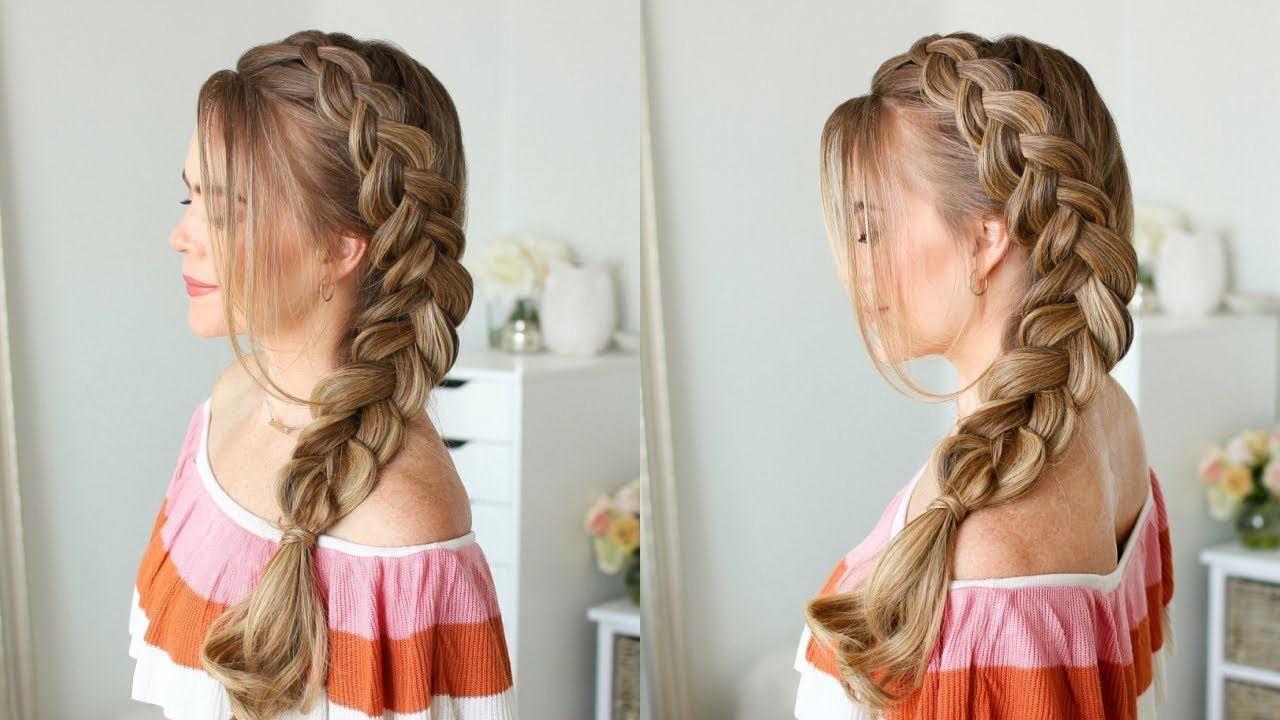 Dutch Side Braid Missy Sue Youtube Beauty Style Fashion