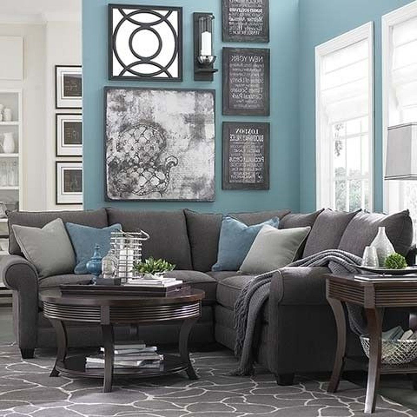 grey living room with teal  40 grey living rooms that