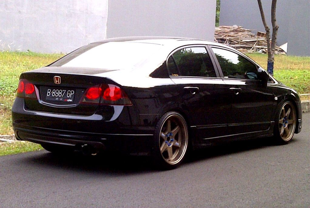 Indonesia Civic FD TE37 Honda civic, Honda cars, Honda