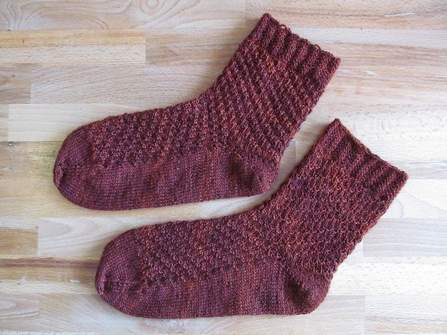 Ravelry: Rusted from the Rain pattern by Anja Freihube   Knitting ...