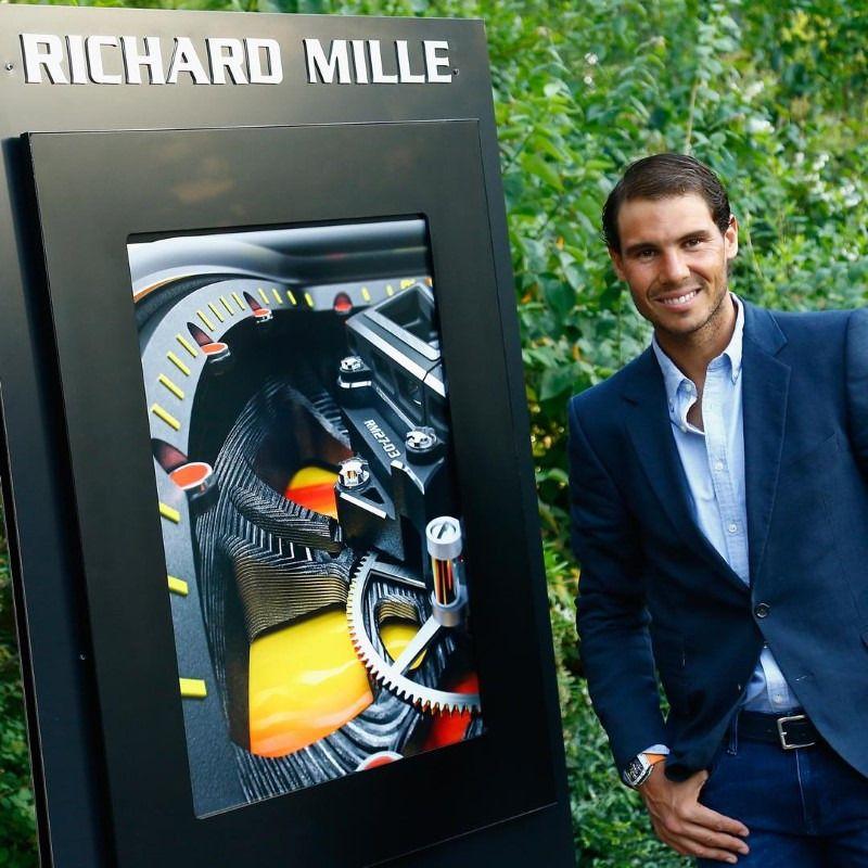 """Richard Mille Tourbillon RM 27-03 Rafael Nadal, Une ..."
