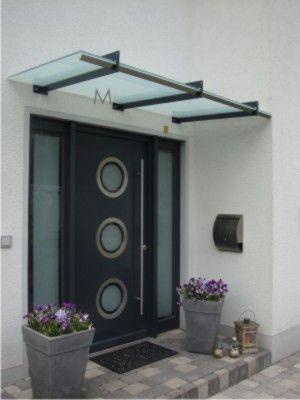 vordach dessau mit integrierter rinne vorgarten pinterest vordach haus und bau. Black Bedroom Furniture Sets. Home Design Ideas
