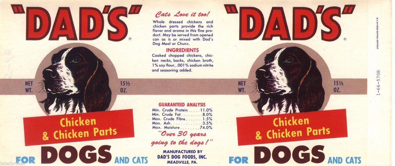 Small Of Dads Dog Food