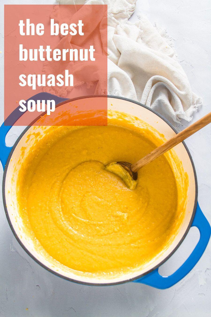 The Best Butternut Squash Soup