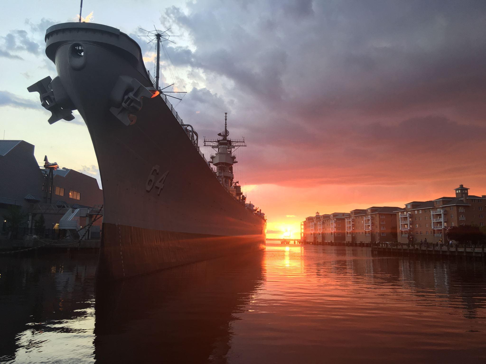 USS Battleship Wisconsin, Norfolk, VA