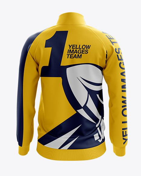Download Men S Training Jacket Mockup Back View In Apparel Mockups On Yellow Images Object Mockups Clothing Mockup Mockup Psd Design Mockup Free