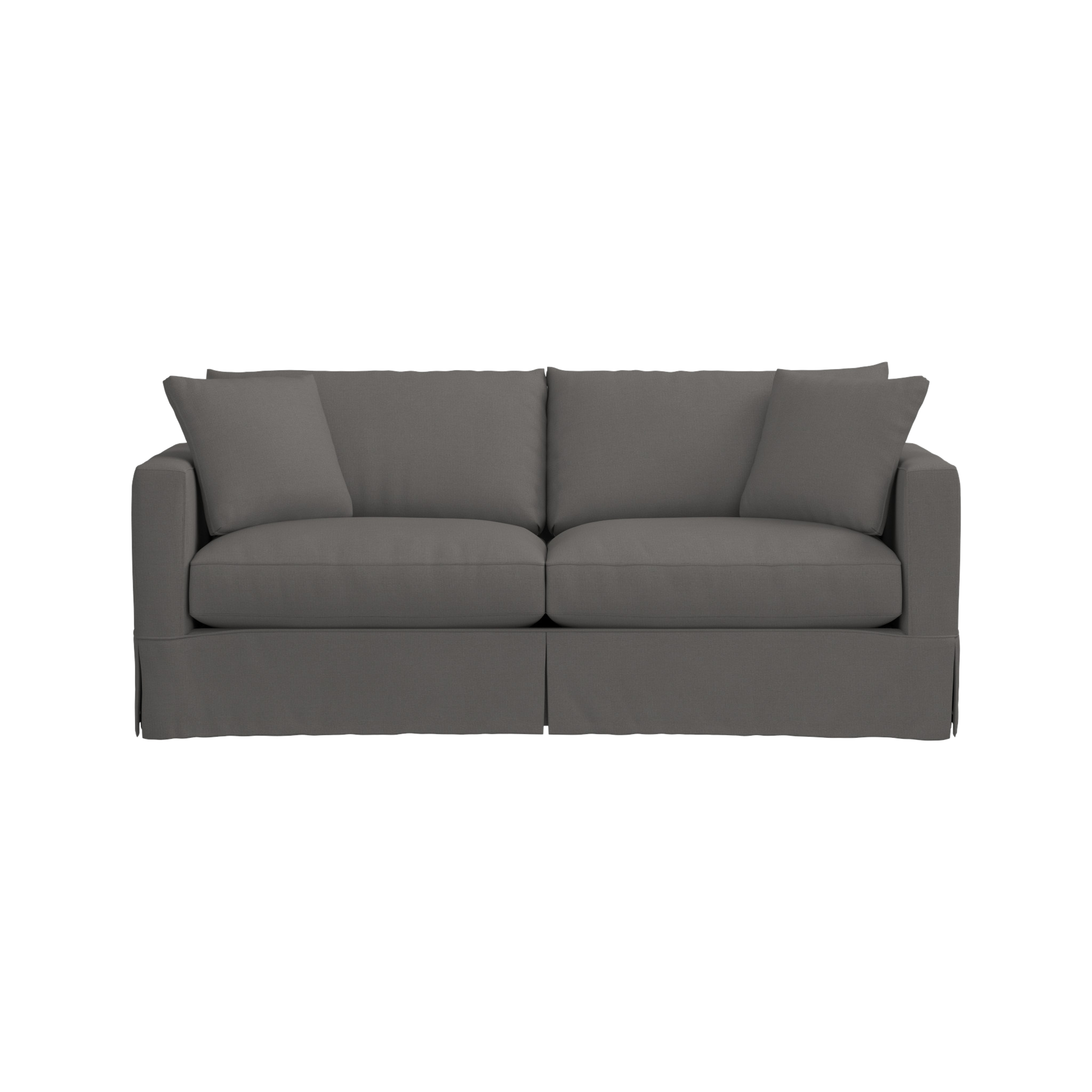 Keely Slipcovered Sofa Reviews Crate And Barrel Slipcovered Sofa Furniture Sofa Furniture