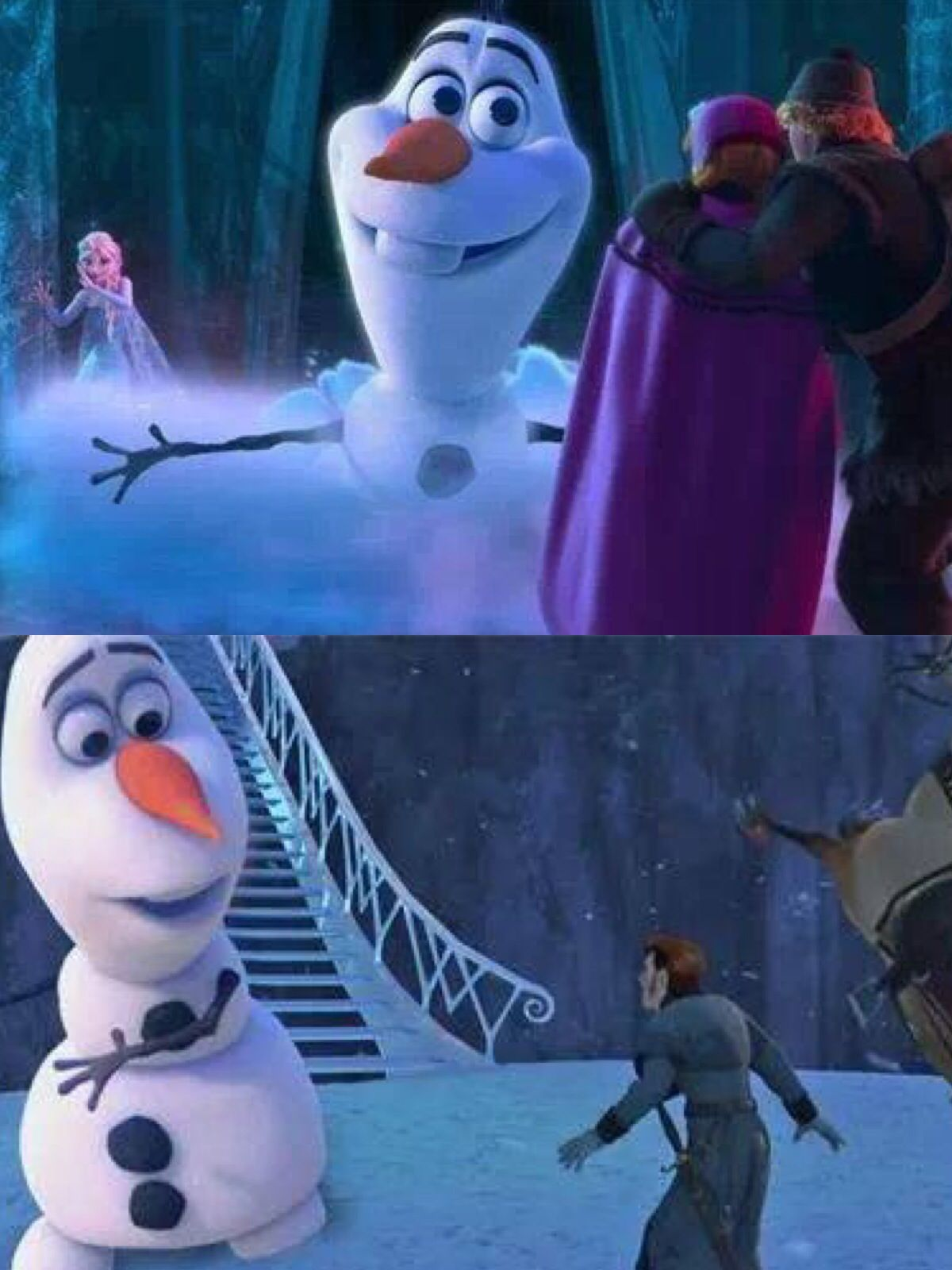 Frozen palace background  If Olaf was Marshmellow  Frozen  Pinterest  Olaf Frozen