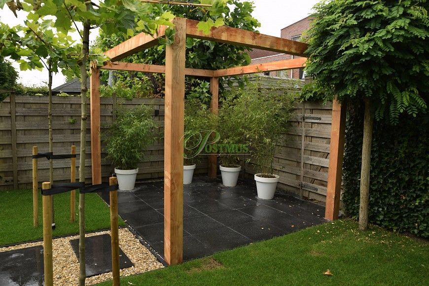 Pergola In Tuin : Pergola aluminium en hout tuin pergolas u gardenonline