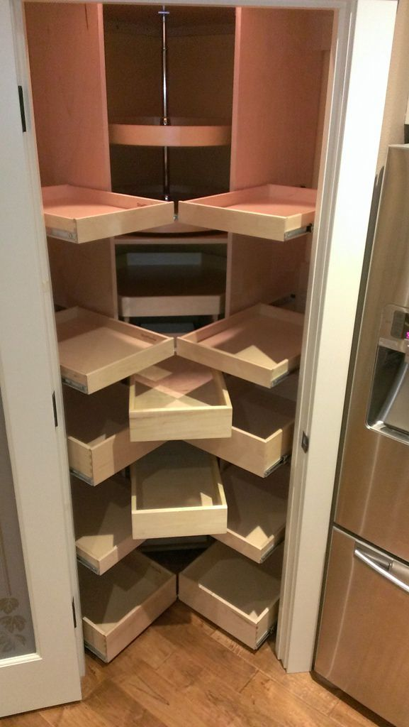 Small Corner Pantry Corner Pantry Pantry Remodel Kitchen Pantry Cabinets