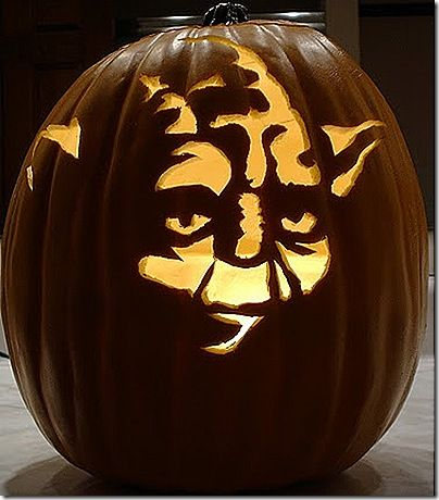 6 sensational yoda pumpkin carvings star warzish pumpkin carving