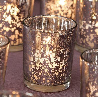 david tutera silver mercury glass votive cup 25 glass votive candle holders glass votive and votive candle holders