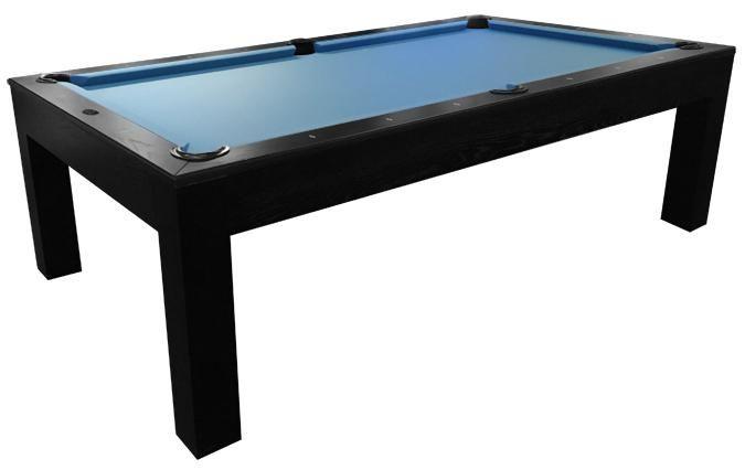 Majestic Mensa Black Modern 4 X 8 Foot Pool Table