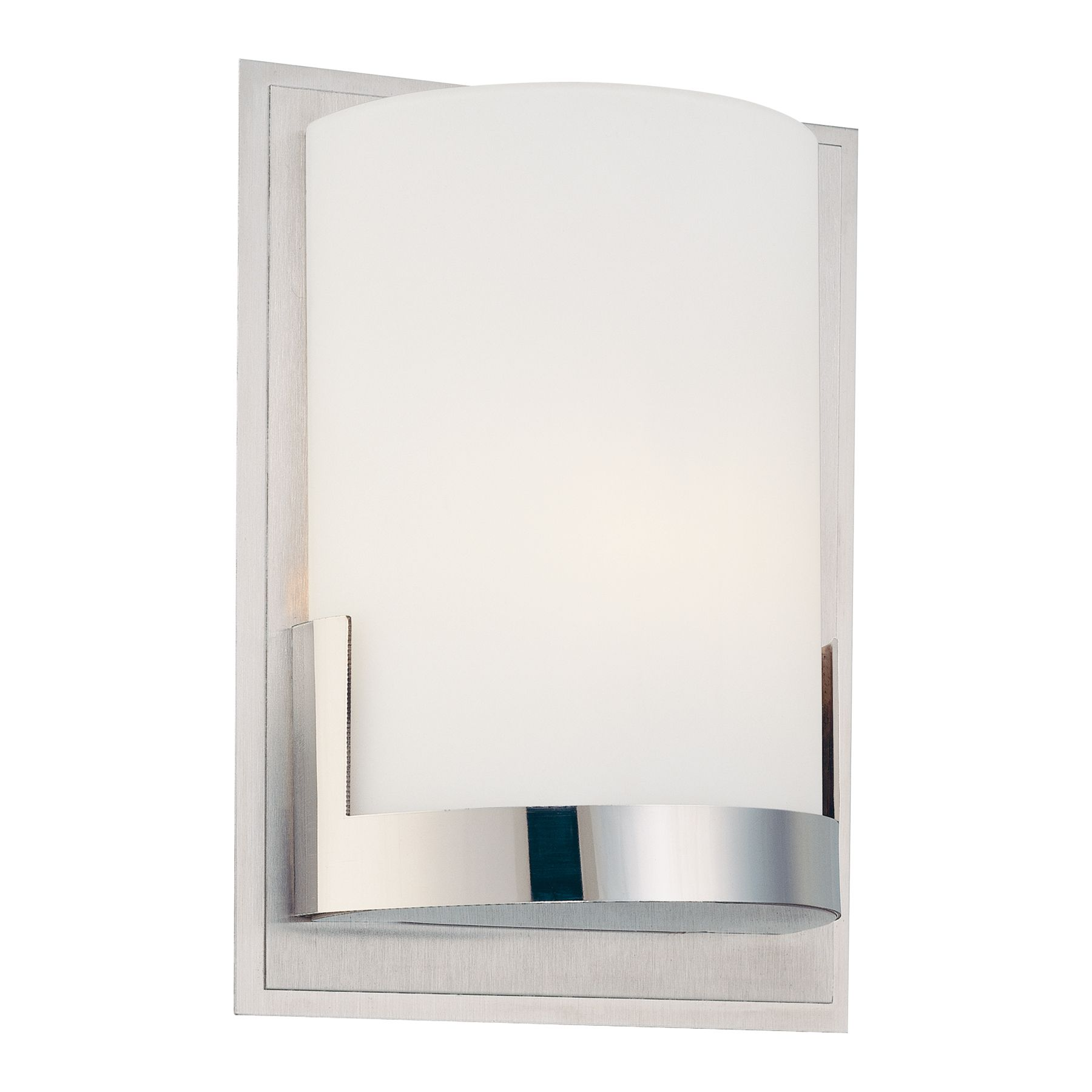 Convex 1 Light Wall Sconce By George Kovacs P5951 077 Bathroom Sconces Bathroom Sconces Chrome Sconces