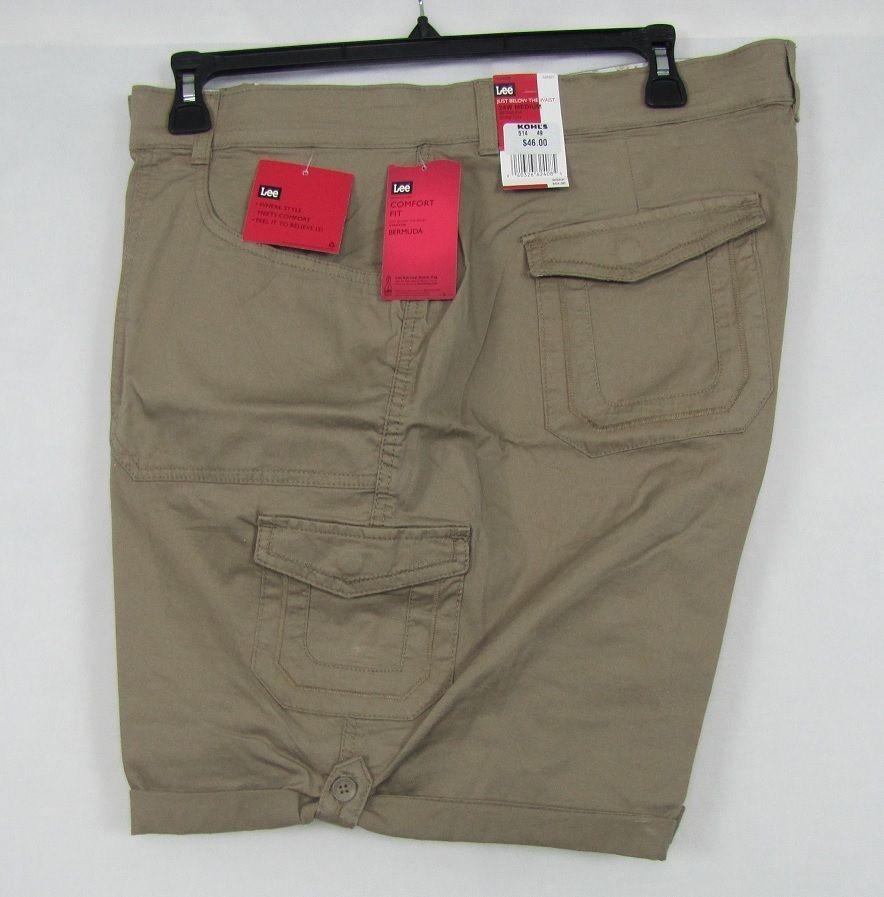 Lee Bermuda Cargo Shorts Women S Comfort Fit Walking Shorts Plus