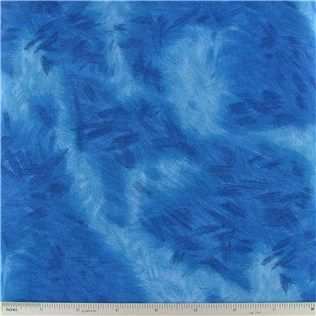 "Royal Blue Earth Series Fabric is 44"" - 45"" wide and 100% cotton.    	CARE INSTRUCTIONS - Machine Wash, Warm; Tumble Dry; Remove Promptly.    	Available in 1-yard increments. Average bolt size is approximately 15 yards. Price displayed is for 1-yard. Enter the total number of yards you want to order."