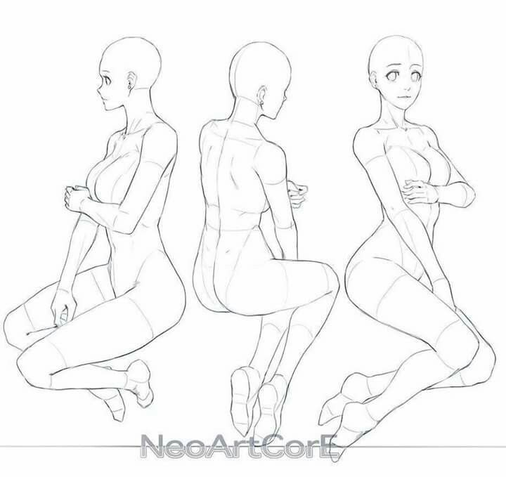 Pin by Rick Rozay on Female Reference | Pinterest | Pose, Drawings ...