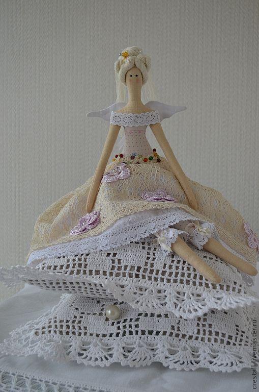Куклы Тильды ручной работы. Ярмарка Мастеров - ручная работа Принцесса на горошине Бела (Прекрасная). Handmade.