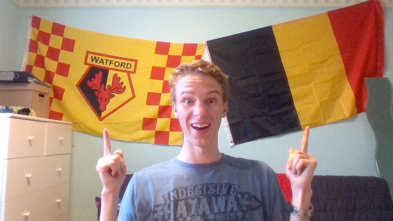 My flaaaaaaaaaaaaaags #belgie #watfordfc