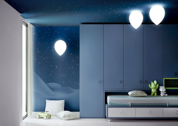 balloon lights - stunning idea