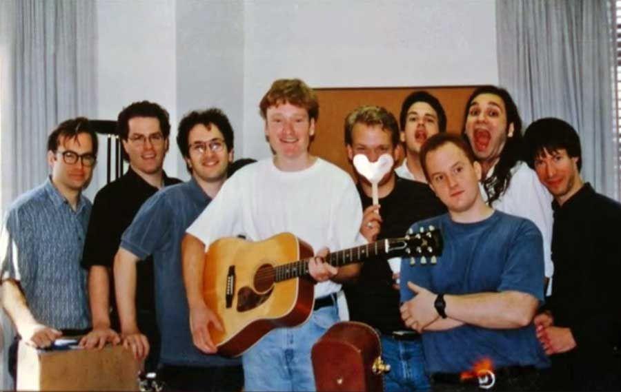 Bob Odenkirk, David Reynolds, Robert Smigel, Conan O'Brien, Andy Richter