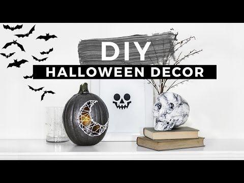 YouTube DECO  Halloween et Automne Pinterest DIY Halloween