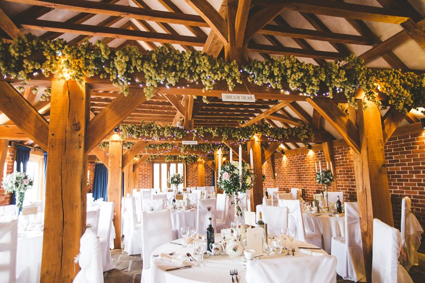 Love Is In The Air For This Beautiful Wedding Breakfast In April