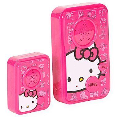 Hello Kitty Answering Machine Kids Doorbell Jcpenney Hello Kitty Items Hello Kitty Kitty
