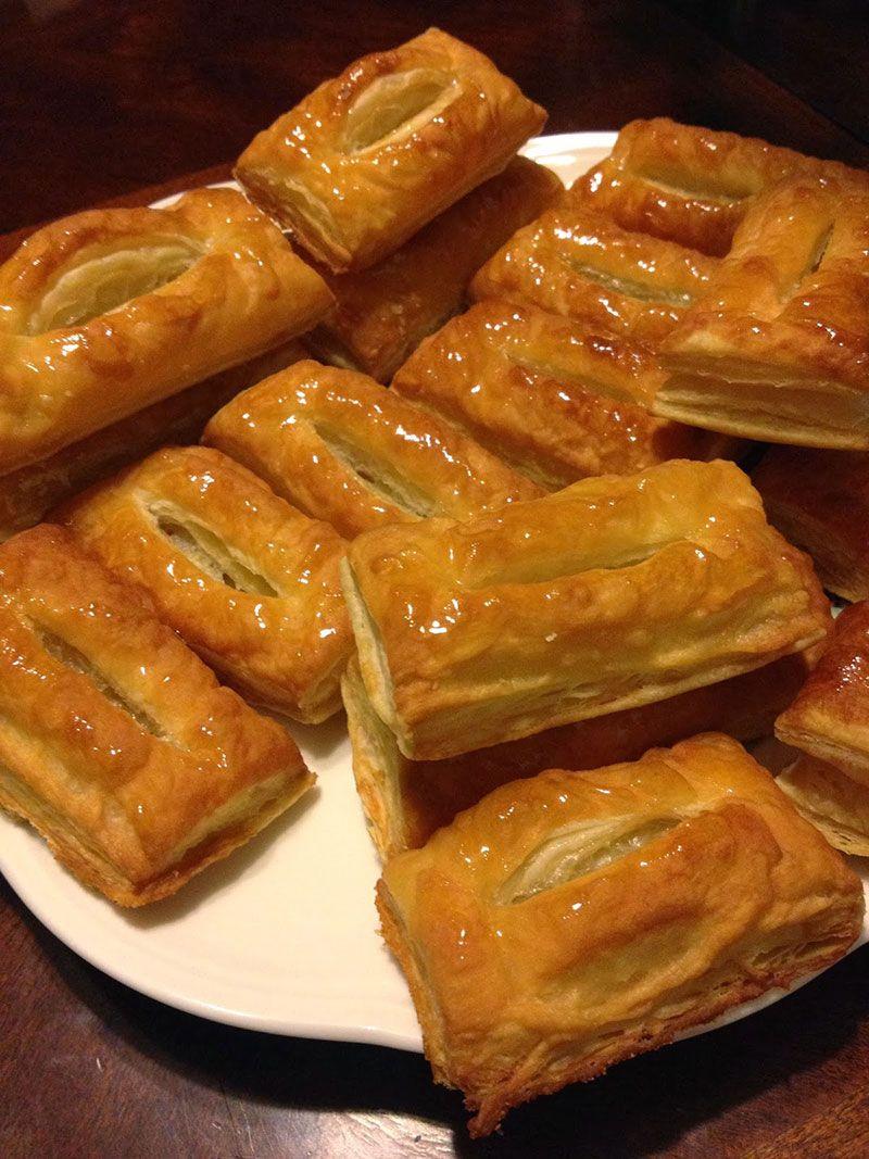 Слоеное тесто для язычков рецепт с фото