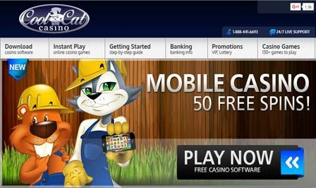 Coolcats Casino Mobile