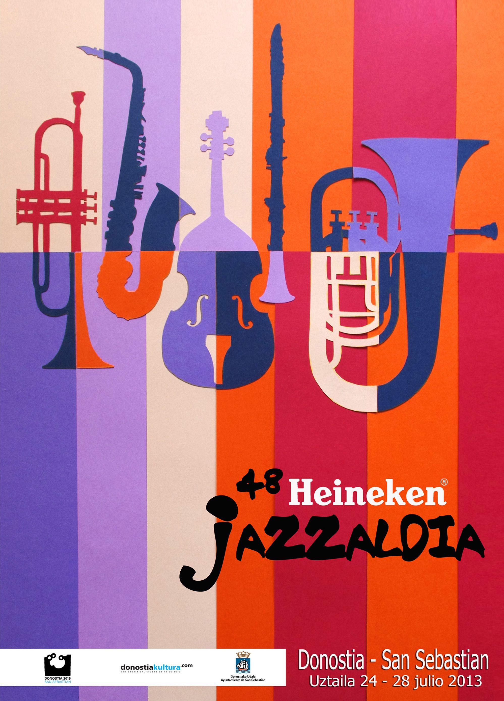 Propuesta Cartel 48 Heineken Jazzaldia Design Jazz Poster