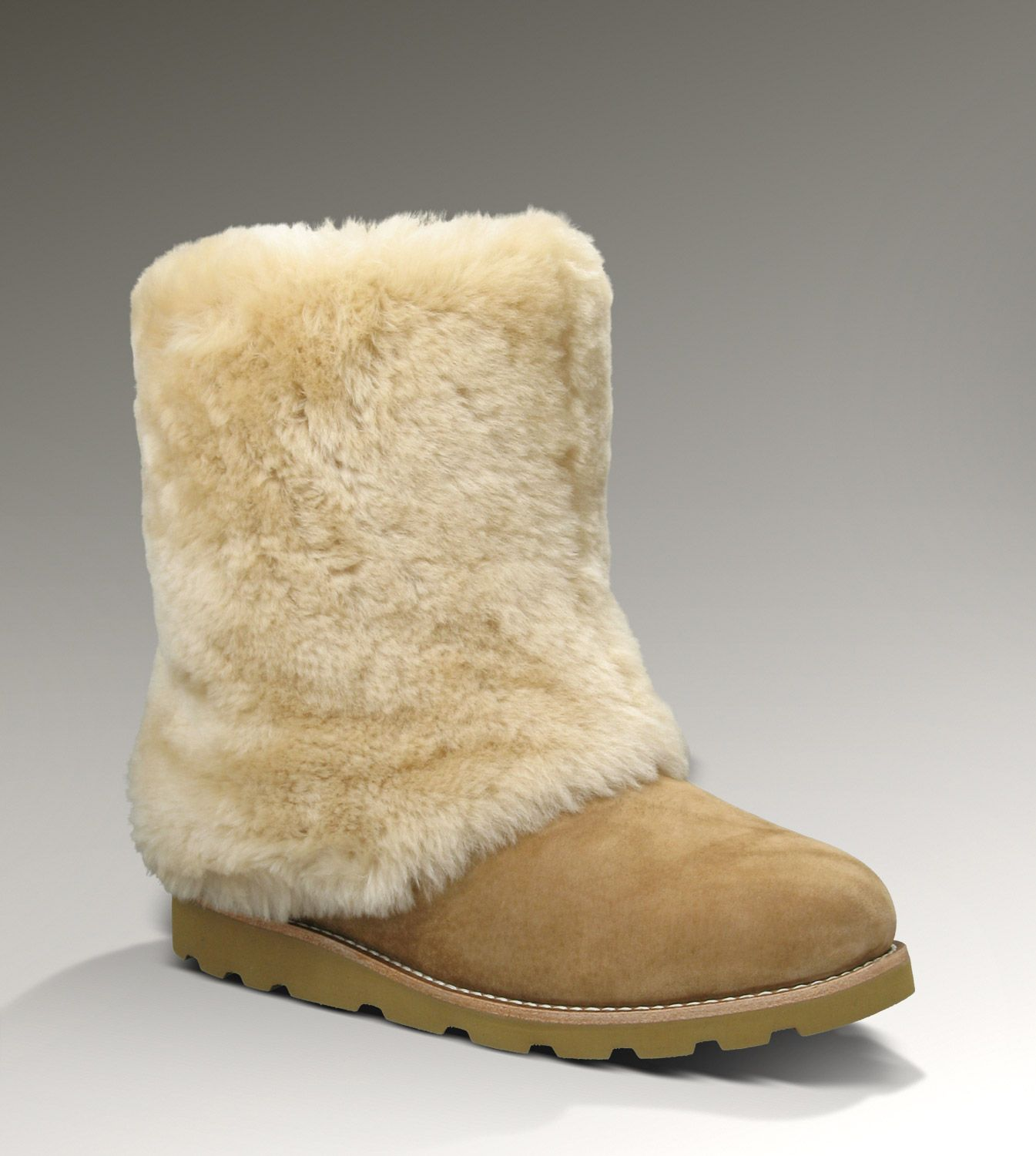 UGG® Maylin Suede for Women | Furry Cuffed Boots at UGGAustralia.com