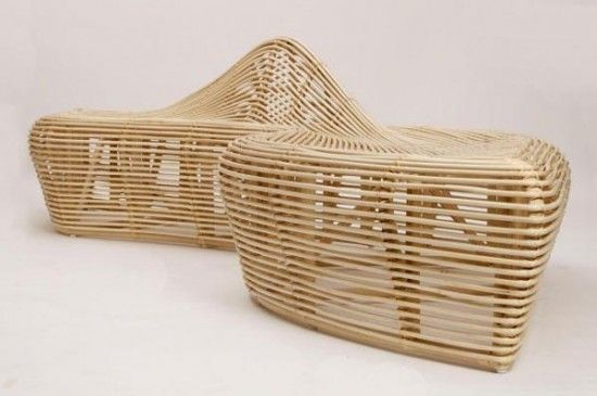 Indonesian Modern Contemporary Rattan Furniture by Alvin
